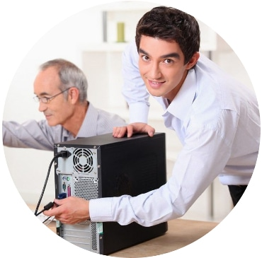 Datorhjälp för pensionärer