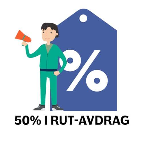 hjälp med datorn - 50% i RUT