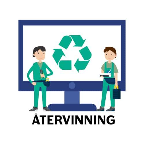 hjälp med datorn - återvinning